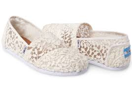 white lace white lace leaves women s classics toms