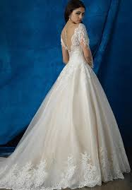 allure bridals 9366 wedding dress the knot