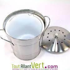 compost cuisine poubelle de table à compost anti odeurs pour cuisine 5 litres 25 90