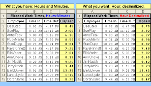 tom u0027s tutorials for excel converting an elapsed time to a decimal