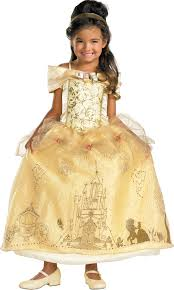 storybook disney belle prestige toddler child girls costume fancy