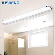 aliexpress com buy jusheng modern linear led mirror lights in