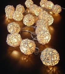 rattan ball fairy lights storm cream white rattan ball fairy lights ideal wedding