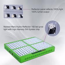 online shop mars hydro full spectrum reflector 192 led grow light