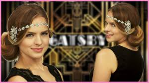 easy great gatsby inspired halloween hair tutorial with kayley