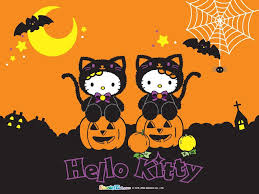 free cute halloween background hello wallpapers group 70
