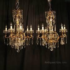 Brass Antique Chandelier 32 Best Crystal Chandelier Images On Pinterest Crystal
