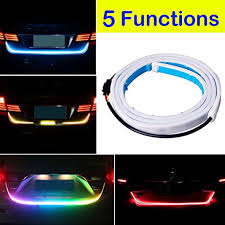 universal led tail lights amazon com botepon 48 universal 5 functions car led tail strip