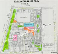 Gurgaon India Map by Dharuhera Sector 6 Gurgaon Map Dharuhera Sector Vi Gurgaon City