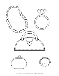 diamond ring coloring pages drawn purse colouring picture pencil and in color drawn purse