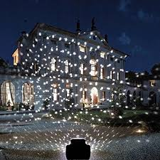 Outdoor Projector Lights Snowfall Led Lights Yoyokit Rotating Waterproof Snowflake Outdoor