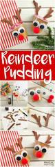 rudolph reindeer pudding