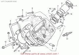 honda cx500t turbo 1982 c england left cylinder head schematic