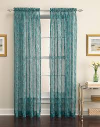 Sheer Teal Curtains Curtain Sheer Teal Curtains King Peacock Curtain Panel