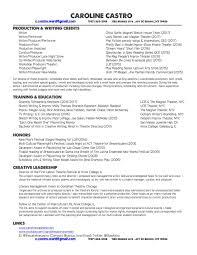 resumes u2014 caroline castro