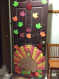 Thanksgiving Door Decorations