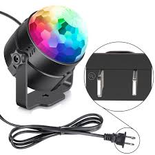 halloween strobe light with sound neewer mini led stage light sound activated party light for