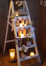 seating plan find your seat rustic shabby chic ladder table