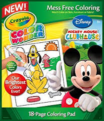 amazon com crayola minnie mouse color wonder refill book toys