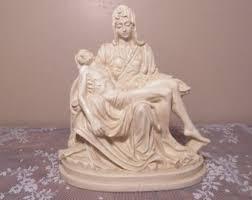 Religious Home Decor Mary Holding Jesus Etsy