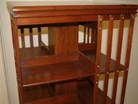 Danner Revolving Bookcase Salado Creek Antiques Walnut Danner Revolving Bookcase