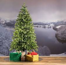 7ft bayberry spruce slim feel real artificial christmas tree
