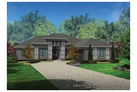 modern prairie house plans eplans contemporary modern house plan prairie styling smart