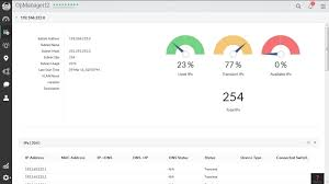 ip address map ip address management and switch port mapping add on for opmanager