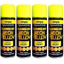 all purpose spray paint neon effect interior u0026 exterior metal wood