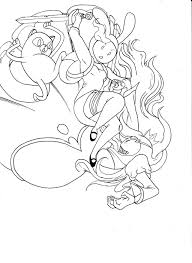 adventure time fionna line art by semajz on deviantart