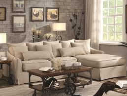knottley beige linen sectional sofa all american furniture buy