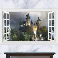 Harry Potter Home Harry Potter Wall Sticker 3d Poster For Home Gallery Linda Deals