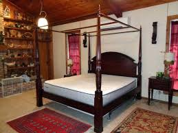 4 post king bed frame best 4 post bed ideas on canopy bed with