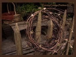 primitive twig garland