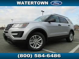 Ford Explorer Lease - 2017 new ford explorer fwd at watertown ford serving boston ma