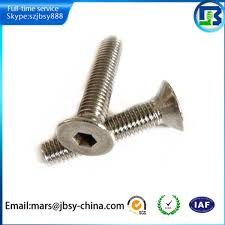 high quality hex socket countersunk bed frame screws buy bed