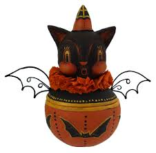 lori mitchell halloween johanna parker halloween folk art figures traditions