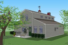 colorg two story barn style home plans