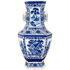 Chinese Hand Painted Porcelain Vases Blue And White Vases Blue White Vases Blue White Vase Blue