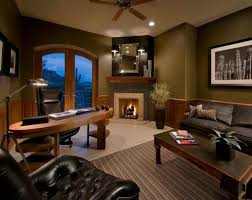 home office design books home decoration cozy home office design ideas with indoor fireplace