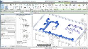revit hvac project 04 add supply ducts youtube