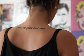 quote tattoo tumblr blogs quote tattoos for girls very tattoo