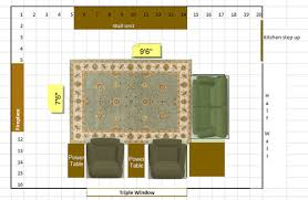Family Room Area Rug Size - Family room size