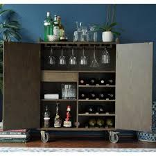 Indoor Bar Cabinet Haven Home Smith Indoor Bar Cabinet 6006 044 Products