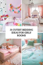 31 sweetest bedding ideas for girls u0027 bedrooms digsdigs