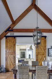 Doors Barn Style Diverse Dining Rooms With Sliding Barn Doors Dining Room Internal