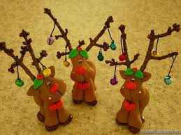 cute clay reindeer christmas crafts pinterest clay polymers