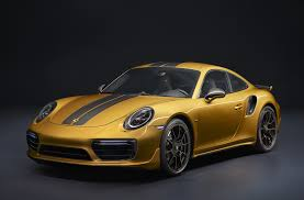 Porsche 911 Horsepower - 607 hp 2018 porsche 911 turbo s exclusive series revealed