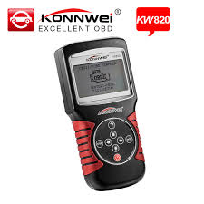 car check engine light code reader konnwei kw820 car universal diagnostic scanner fault code reader