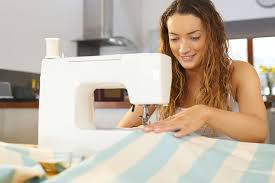 sewing straight lines with a sewing machine